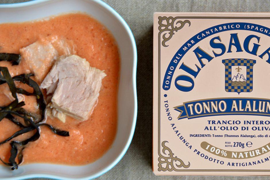 gazpacho tonno olasagasti