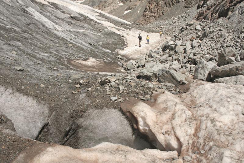 ghiacciaio monte bianco olasagasti